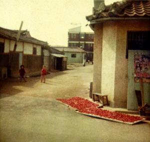 Street Corner in Ui Jong Bu