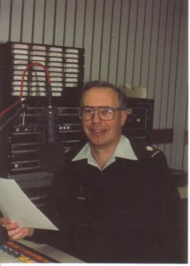 Jeff Moran working at AFN.