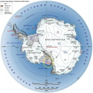 The Site of Recovery was Roughly between the South Pole and Argus Dome