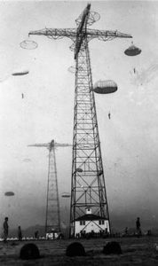 Parachute Towers at Ft. Benning, GA