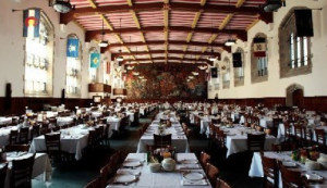 USMA Cadet Mess Hall – note State Flags around the exterior walls