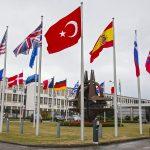NATO flags