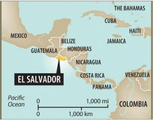where is el salvador