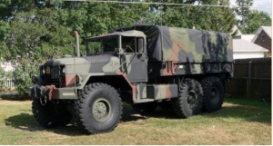 West Point Army Truck