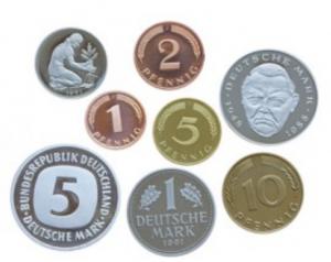 Deutschmark Coins