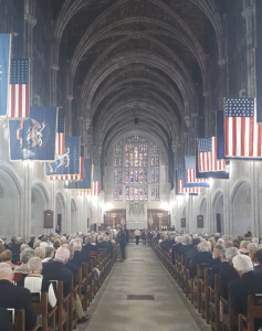 Memorial Service in West Point