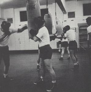 Cadets Boxing Class