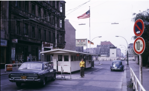 Checkpoint Charlie Berlin Wall 1973