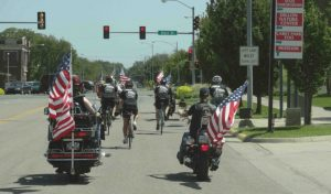 American Legion Escort into Hutchison, KS